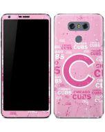 Chicago Cubs - Pink Cap Logo Blast LG G6 Skin