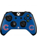 Chicago Cubs - Solid Distressed Xbox One Controller Skin