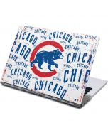 Chicago Cubs - White Cap Logo Blast Yoga 910 2-in-1 14in Touch-Screen Skin
