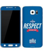Chicago Cubs 2016 World Series Champions Galaxy S6 Skin
