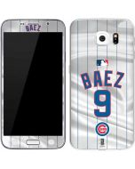 Chicago Cubs Baez #9 Galaxy S6 Skin