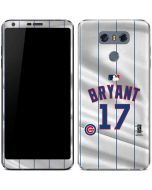 Chicago Cubs Bryant #17 LG G6 Skin