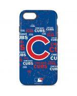 Chicago Cubs -Cap Logo Blast iPhone 8 Pro Case