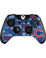 Chicago Cubs -Cap Logo Blast Xbox One Controller Skin