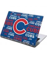 Chicago Cubs -Cap Logo Blast Yoga 910 2-in-1 14in Touch-Screen Skin