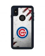Chicago Cubs Game Ball iPhone X Waterproof Case