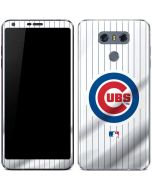 Chicago Cubs Home Jersey LG G6 Skin