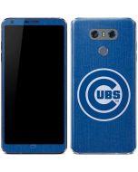 Chicago Cubs Monotone LG G6 Skin