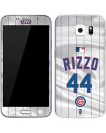 Chicago Cubs Rizzo #44 Galaxy S6 Skin