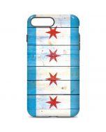 Chicago Flag Light Wood iPhone 7 Plus Pro Case