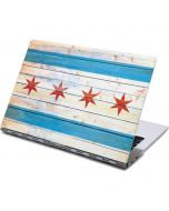 Chicago Flag Light Wood Yoga 910 2-in-1 14in Touch-Screen Skin