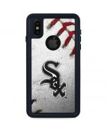 Chicago White Sox Game Ball iPhone XS Waterproof Case