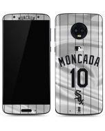 Chicago White Sox Moncada #10 Moto G6 Skin