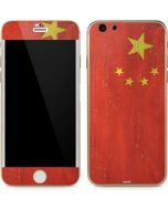 Chinese Flag Distressed iPhone 6/6s Skin