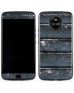 Chipped Blue Wood Moto X4 Skin