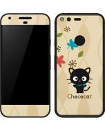 Chococat Autumn Leaves Google Pixel Skin