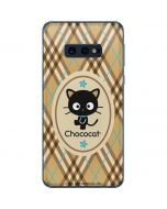 Chococat Brown and Blue Plaid Galaxy S10e Skin