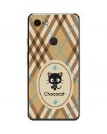 Chococat Brown and Blue Plaid Google Pixel 3 XL Skin