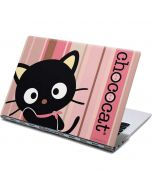 Chococat Pink and Brown Stripes Yoga 910 2-in-1 14in Touch-Screen Skin