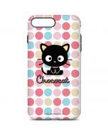 Chococat Pink Circles iPhone 7 Plus Pro Case
