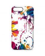 Chromatic Splatter White iPhone 7 Plus Pro Case