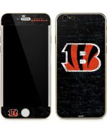 Cincinnati Bengals - Distressed iPhone 6/6s Skin