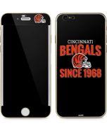 Cincinnati Bengals Helmet iPhone 6/6s Skin