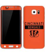 Cincinnati Bengals Orange Performance Series Galaxy S6 Edge Skin