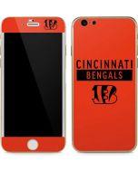 Cincinnati Bengals Orange Performance Series iPhone 6/6s Skin