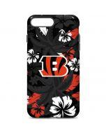 Cincinnati Bengals Tropical Print iPhone 7 Plus Pro Case