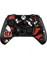 Cincinnati Bengals Tropical Print Xbox One Controller Skin