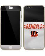 Cincinnati Bengals White Striped iPhone 6/6s Skin