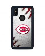 Cincinnati Reds Game Ball iPhone XS Waterproof Case