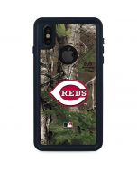 Cincinnati Reds Realtree Xtra Green Camo iPhone XS Waterproof Case