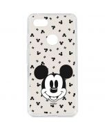 Classic Mickey Mouse Google Pixel 3 XL Clear Case