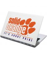 Clemson Solid Orange Its About Pride Yoga 910 2-in-1 14in Touch-Screen Skin