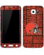 Cleveland Browns - Blast Galaxy S6 Edge Skin