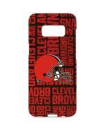 Cleveland Browns - Blast Galaxy S8 Plus Lite Case