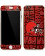 Cleveland Browns - Blast iPhone 6/6s Skin