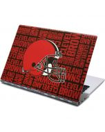 Cleveland Browns - Blast Yoga 910 2-in-1 14in Touch-Screen Skin