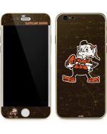 Cleveland Browns Alternate Distressed iPhone 6/6s Skin