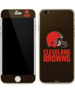 Cleveland Browns Distressed iPhone 6/6s Skin