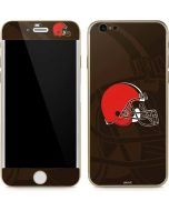 Cleveland Browns Double Vision iPhone 6/6s Skin