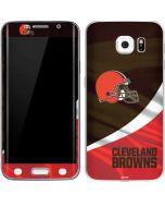 Cleveland Browns Galaxy S6 Edge Skin