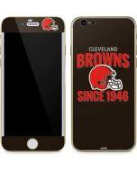 Cleveland Browns Helmet iPhone 6/6s Skin