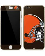 Cleveland Browns Large Logo iPhone 6/6s Skin