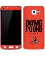 Cleveland Browns Team Motto Galaxy S6 Edge Skin