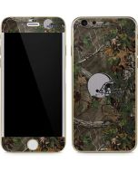 Cleveland Browns Realtree Xtra Green Camo iPhone 6/6s Skin