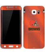 Cleveland Browns Team Jersey Galaxy S6 Edge Skin