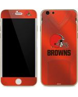 Cleveland Browns Team Jersey iPhone 6/6s Skin
